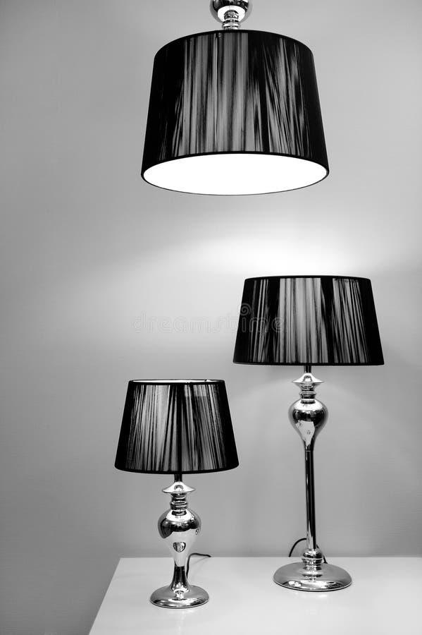 Iluminação moderna do estilo fotos de stock