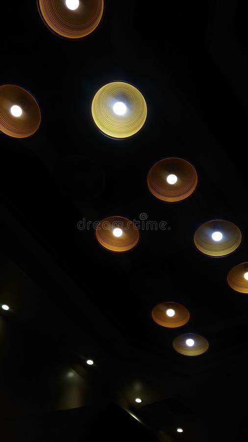Iluminação surpreendente imagem de stock