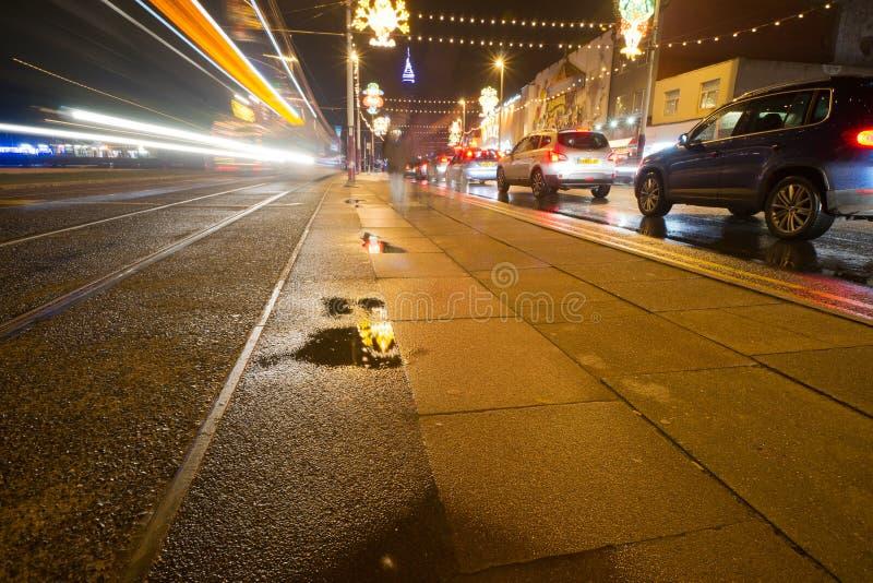 Iluminações de Blackpool fotos de stock