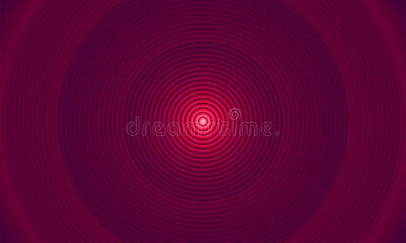 Iluminación abstracta del círculo colorida como el tubo del tubo ejemplo eps10 libre illustration