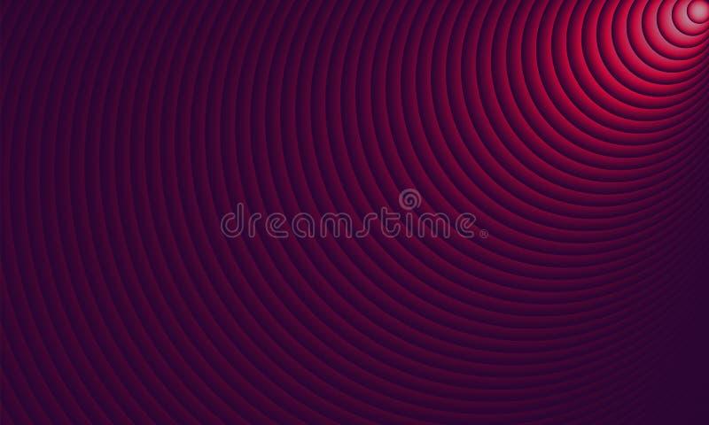 Iluminación abstracta del círculo colorida como puesta del sol Ilustraci?n EPS10 del vector ilustración del vector