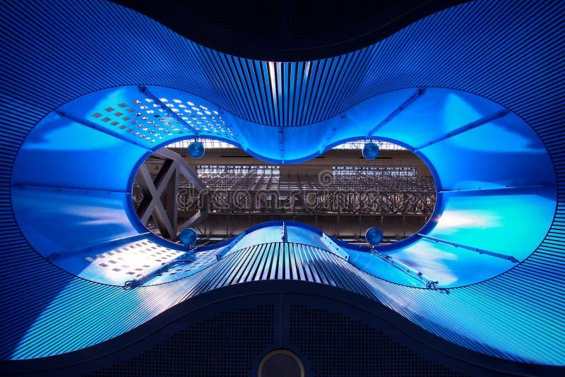 Download Iluminación azul imagen de archivo. Imagen de ilumine - 44853061
