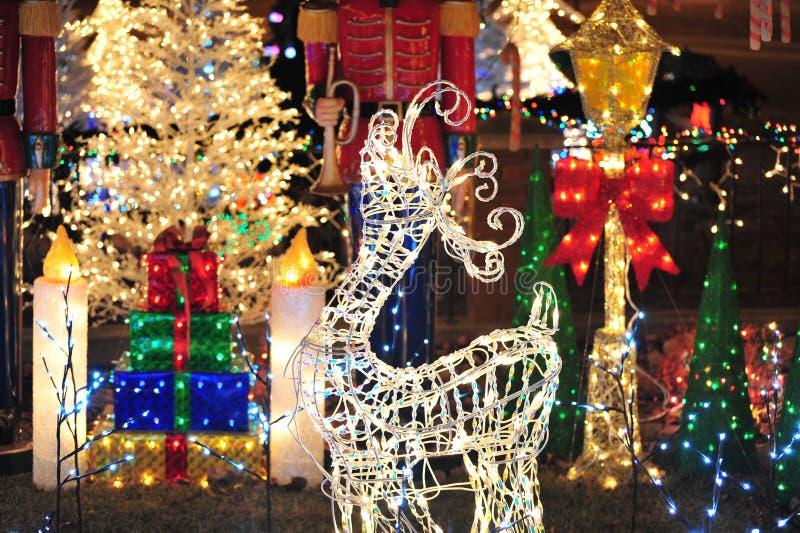 Iluminación de la decoración foto de archivo libre de regalías