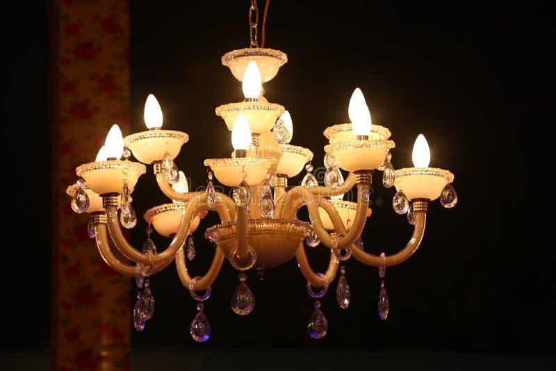 Iluminación de la lámpara que sorprende imágenes de archivo libres de regalías