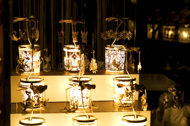 Iluminación de la tienda foto de archivo libre de regalías