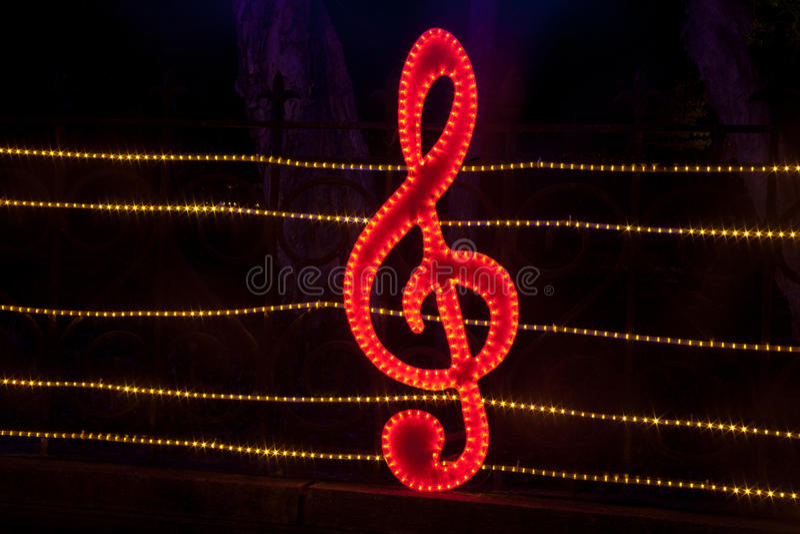 Iluminación decorativa en el festival de linterna imagen de archivo