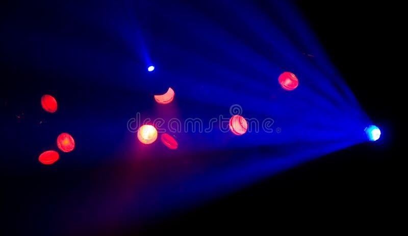 Iluminación del club fotografía de archivo