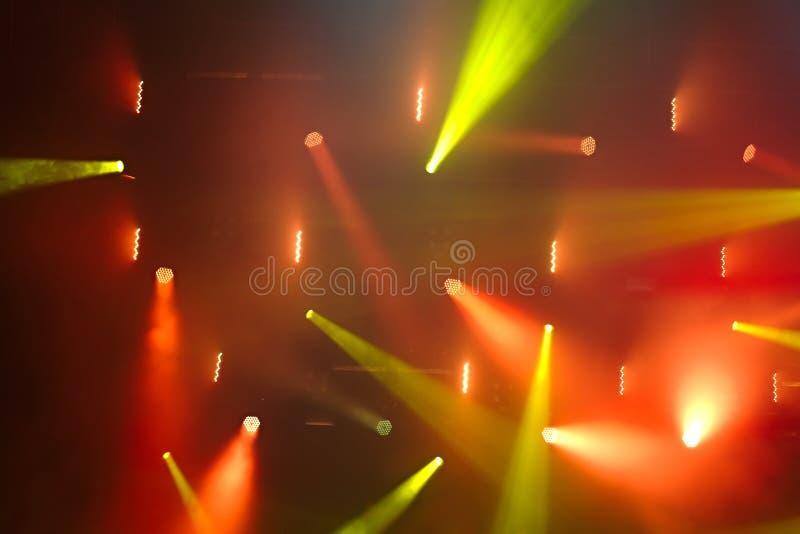 iluminación del concierto imágenes de archivo libres de regalías