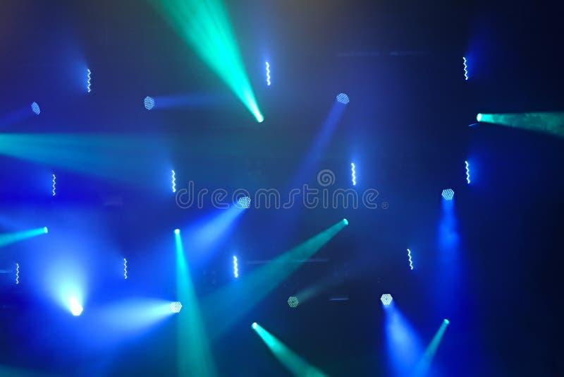 iluminación del concierto fotos de archivo