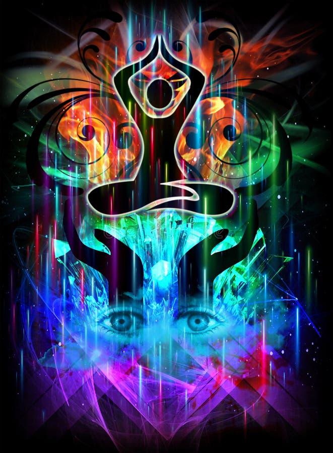 Iluminación divina libre illustration
