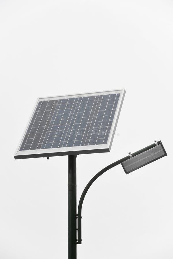 Iluminación pública fotovoltaica fotos de archivo libres de regalías