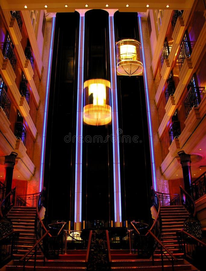 Iluminado fotografia de stock royalty free