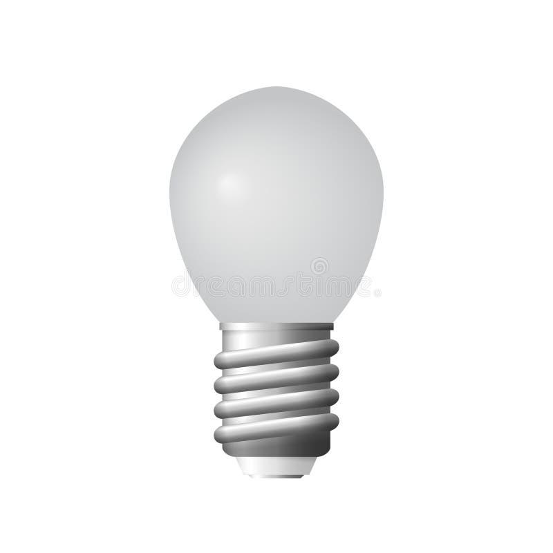 Iluminado ilumine o bulbo ilustração royalty free