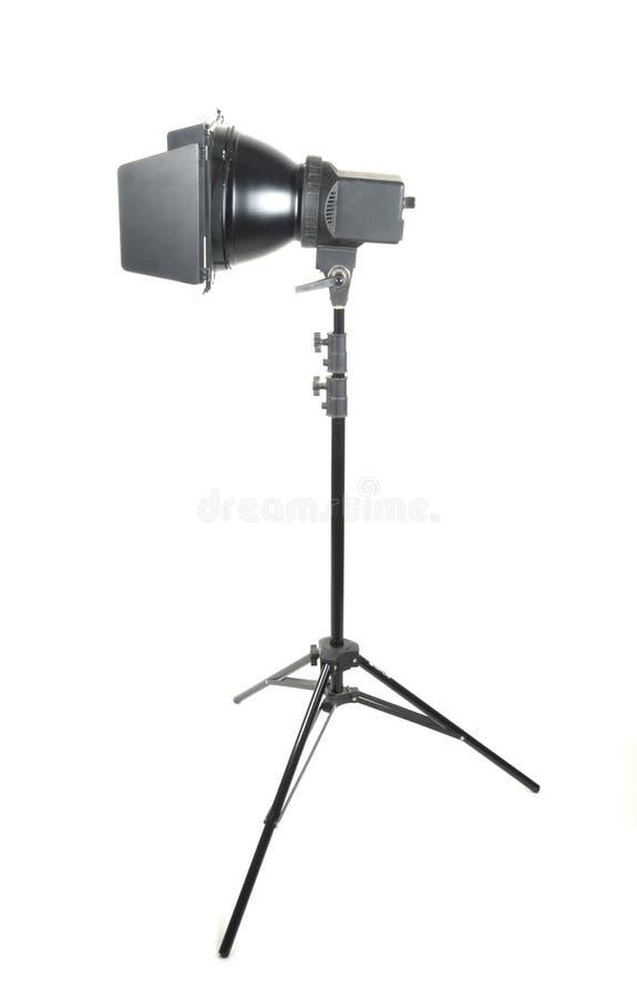 Iluminador del pulso en el trípode foto de archivo