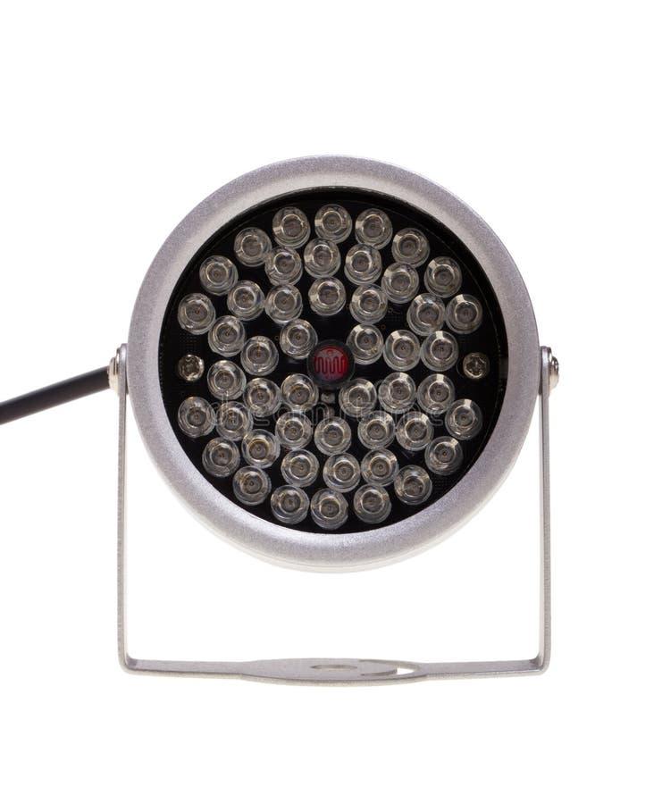Iluminadores infrarrojos para el surveillanc del sistema de seguridad y video fotografía de archivo