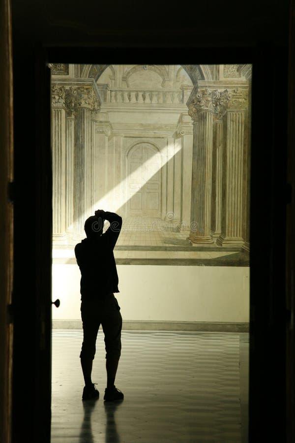 Iluminated man