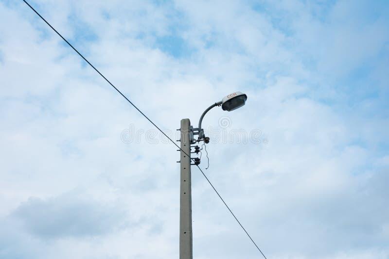 Iluminazione pubblica immagini stock