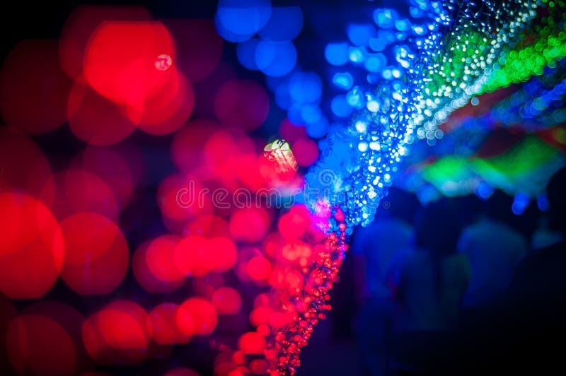 Ilumine a noite imagens de stock
