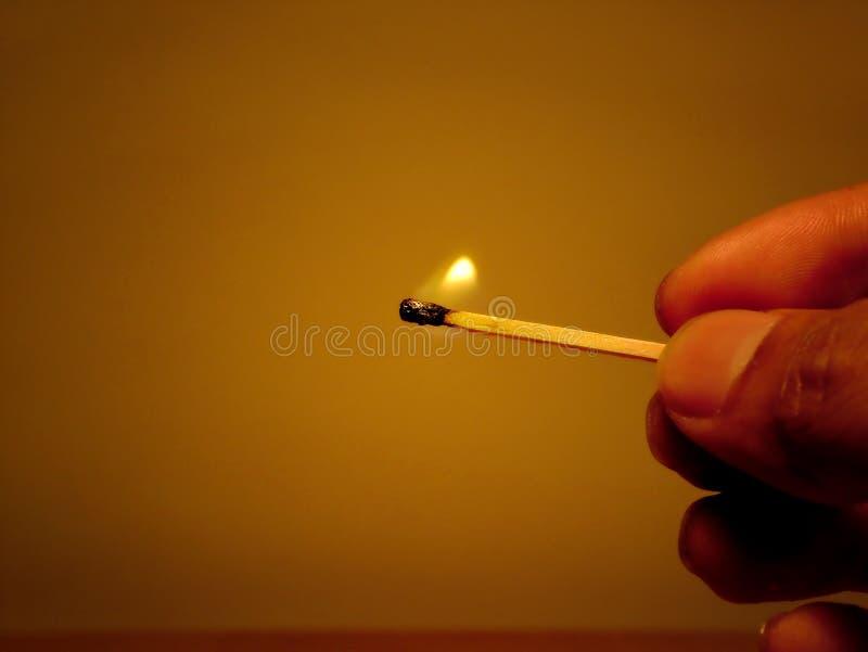 Ilumine o incêndio fotografia de stock
