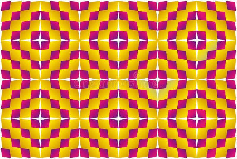 Ilusão do movimento (expansão). ilustração do vetor