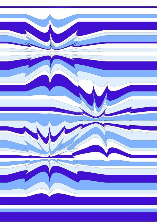 Ilusões óticas ilustração stock