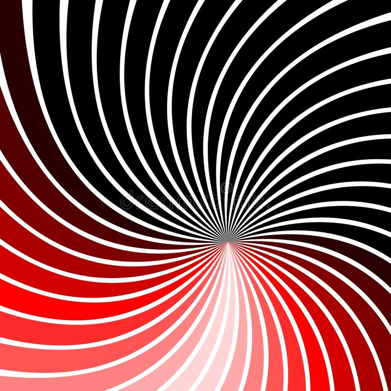 Ilusión óptica ilustración del vector