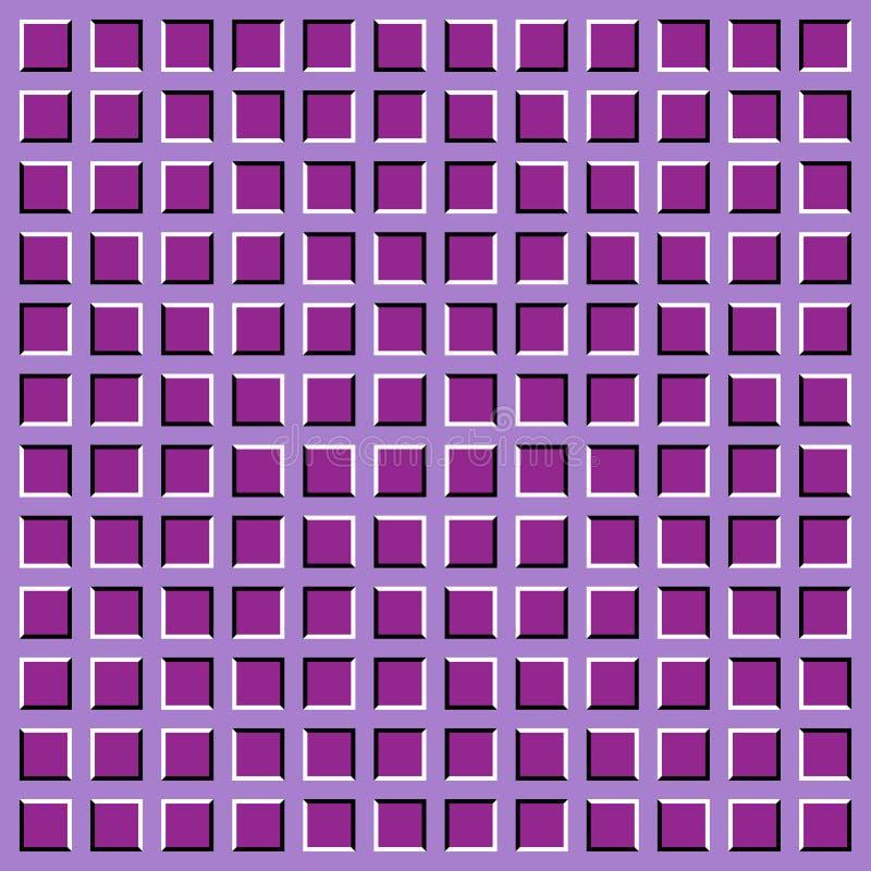 Ilusión óptica. ilustración del vector