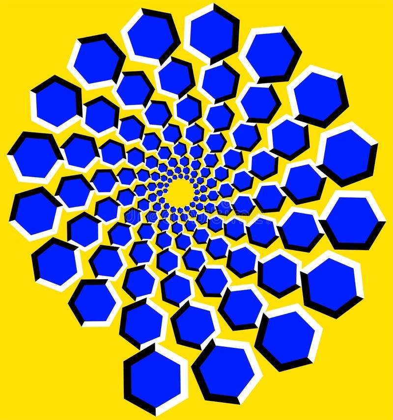 Ilusión óptica libre illustration