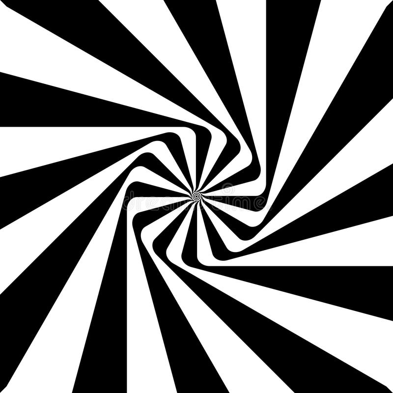 Ilusión óptica, redonda libre illustration