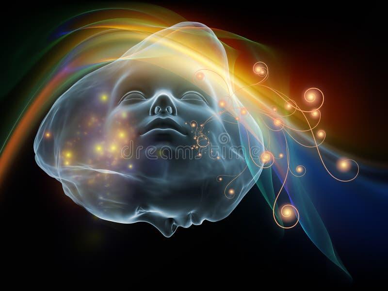 Ilusiones del intelecto ilustración del vector