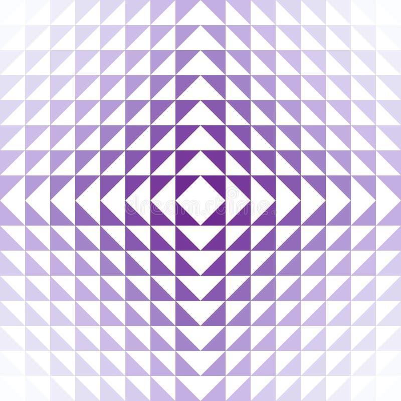 Ilusiones violetas fotografía de archivo