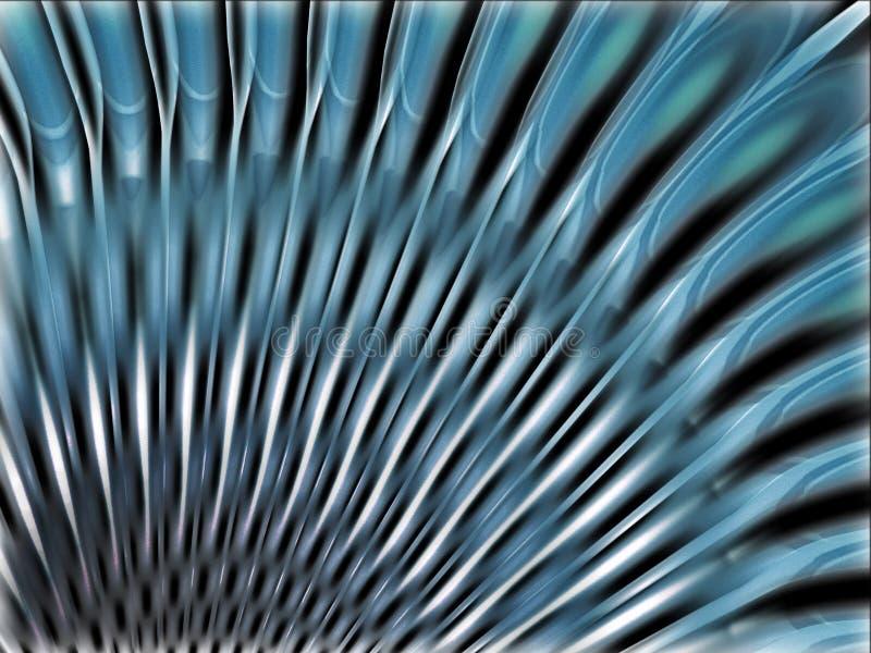 Ilustração 3d abstrata ilustração do vetor