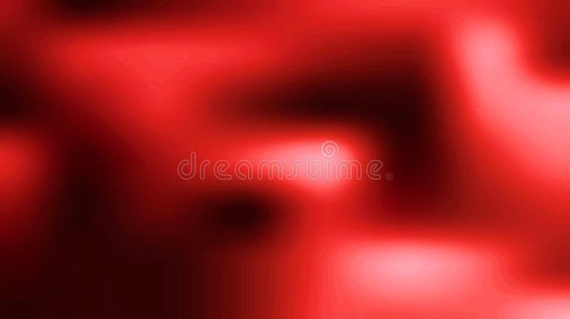Ilustração abstrata borrada vermelha brilhante do fundo ilustração stock