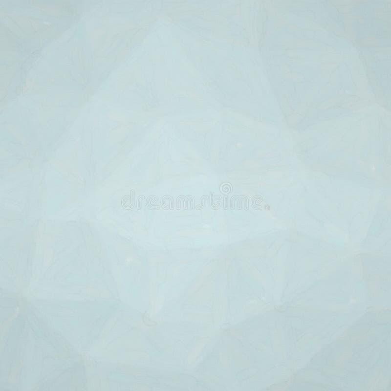Ilustração abstrata da aquarela quadrada de Gainsboro no fundo de papel dos coldpress, gerada digitalmente ilustração stock