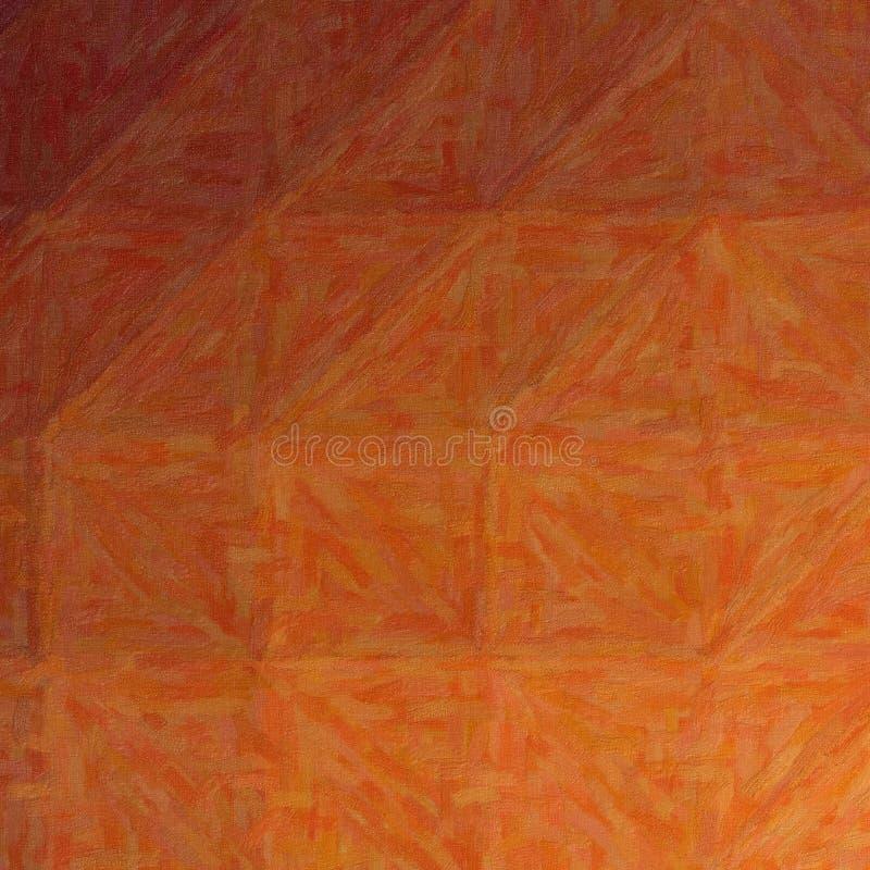 Ilustração abstrata de Impasto marrom quadrado com fundo das variações da cor, gerada digitalmente ilustração royalty free
