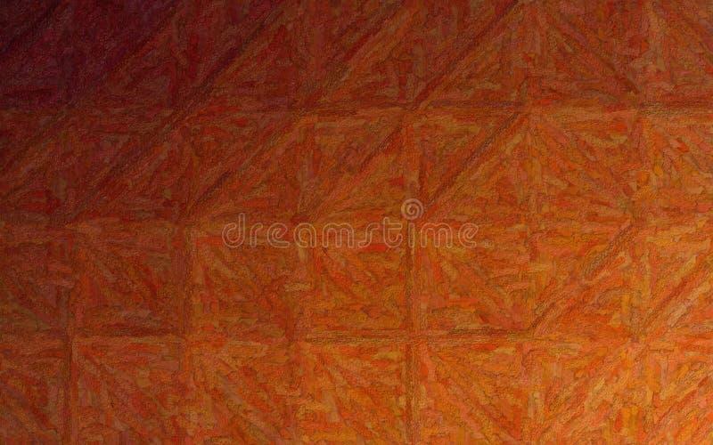 Ilustração abstrata do fundo Textured marrom de Impasto, gerada digitalmente fotos de stock