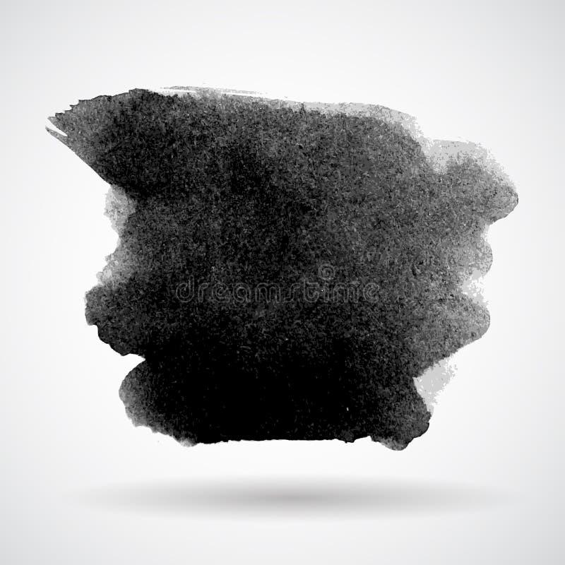 Ilustração abstrata do vetor da bandeira do respingo do Grunge ilustração stock