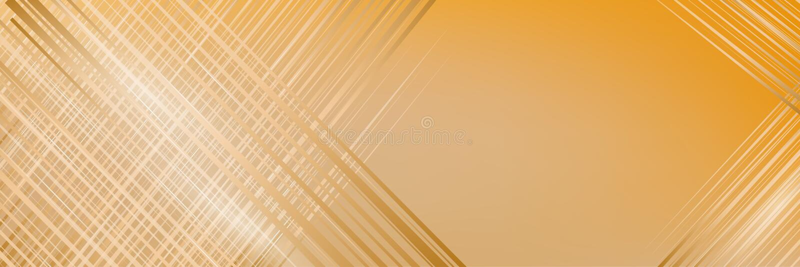 Ilustração abstrata na cor amarela Bandeira da amostra para anunciar ilustração royalty free
