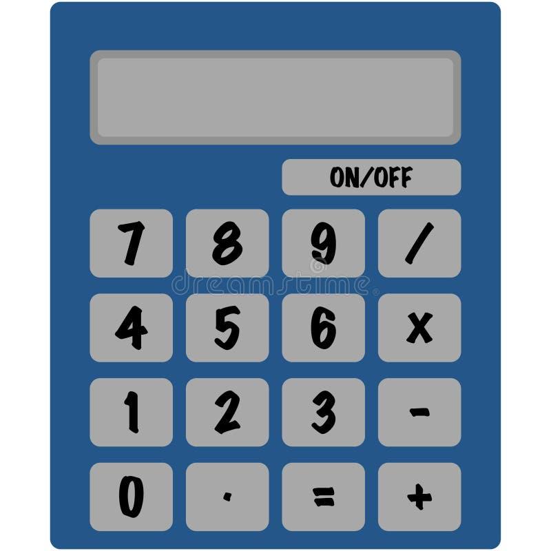 Ilustração básica da calculadora ilustração do vetor