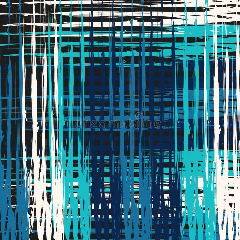 Ilustração bonita do vetor do teste padrão do sumário da cor dos grafittis ilustração do vetor