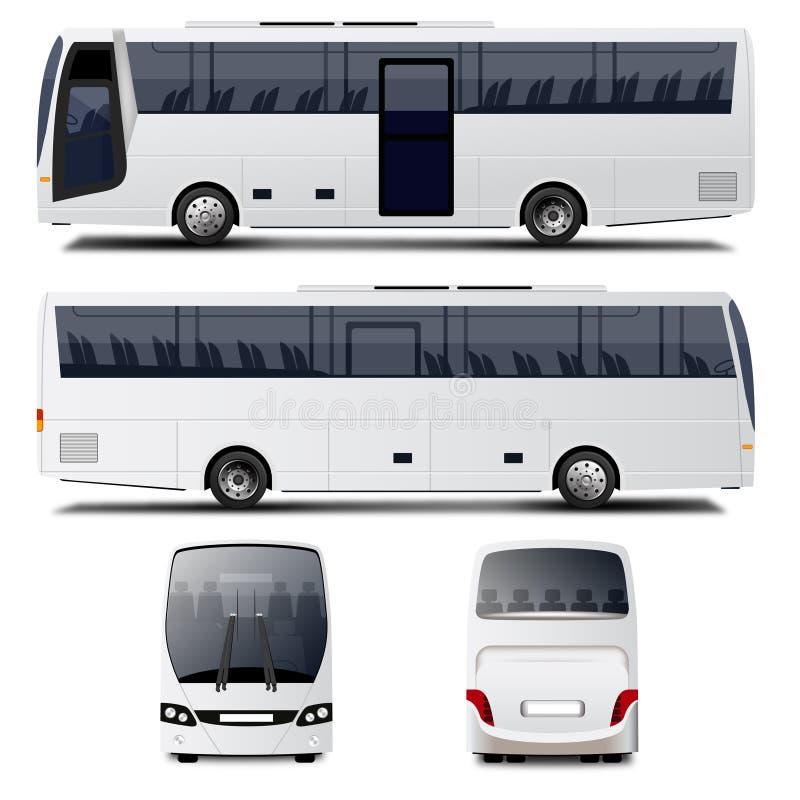 Ônibus da cidade ilustração royalty free