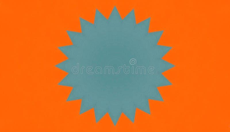 Ilustração calidoscópico de papéis coloridos ilustração royalty free