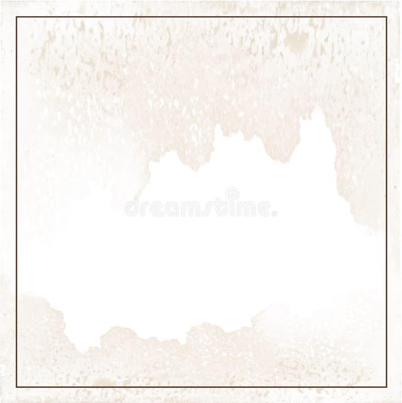 Ilustração clara do fundo do biege ilustração stock