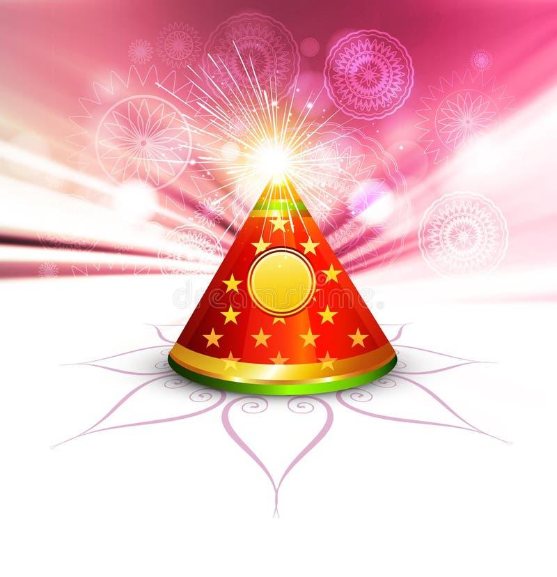 Ilustração colorida do biscoito bonito do diwali ilustração do vetor