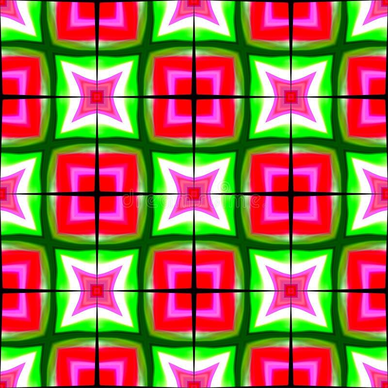 Ilustração colorida do computador do fundo e projeto ondulados e iluminados da imagem ilustração stock