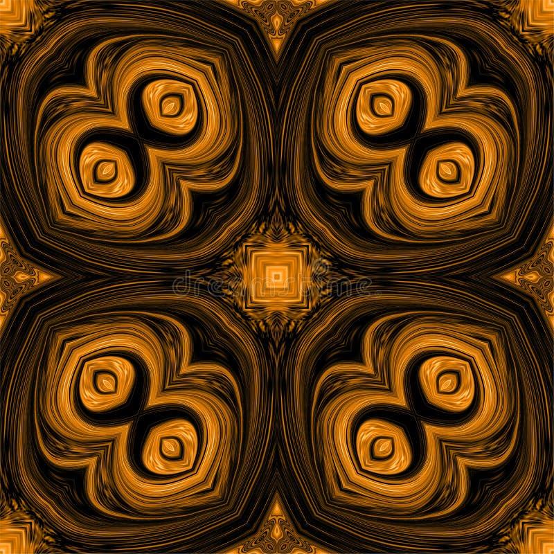 Ilustração colorida do computador do fundo e projeto ondulados e iluminados da imagem ilustração royalty free