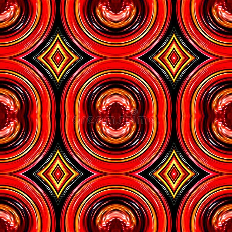 Ilustração colorida do computador do fundo e projeto ondulados e iluminados da imagem ilustração do vetor