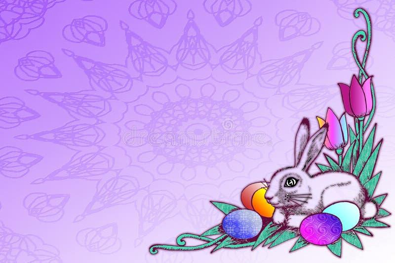 Ilustração conservada em estoque do conceito de Easter ilustração royalty free