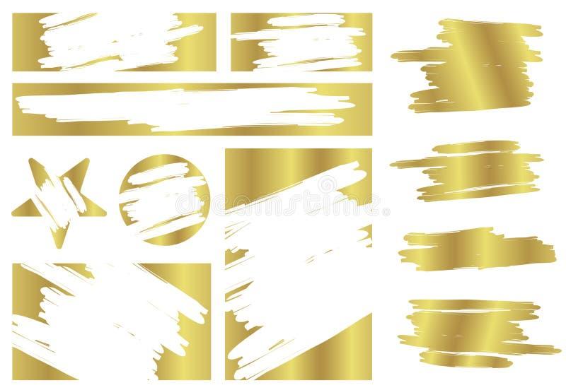 Ilustração criativa do vetor do risco da loteria e do cartão de jogo da vitória isolados no fundo A sorte do vale ou perde a poss ilustração do vetor