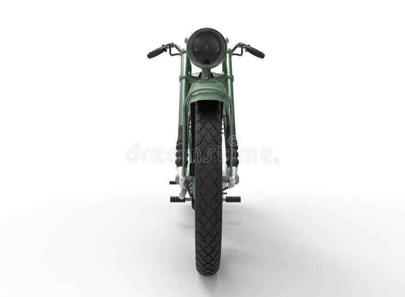 ilustração 3d da motocicleta genérica ilustração royalty free